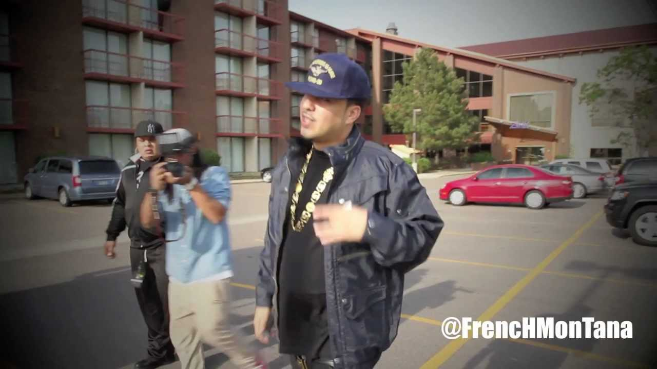 French montana tour vlog Coke boys in Denver