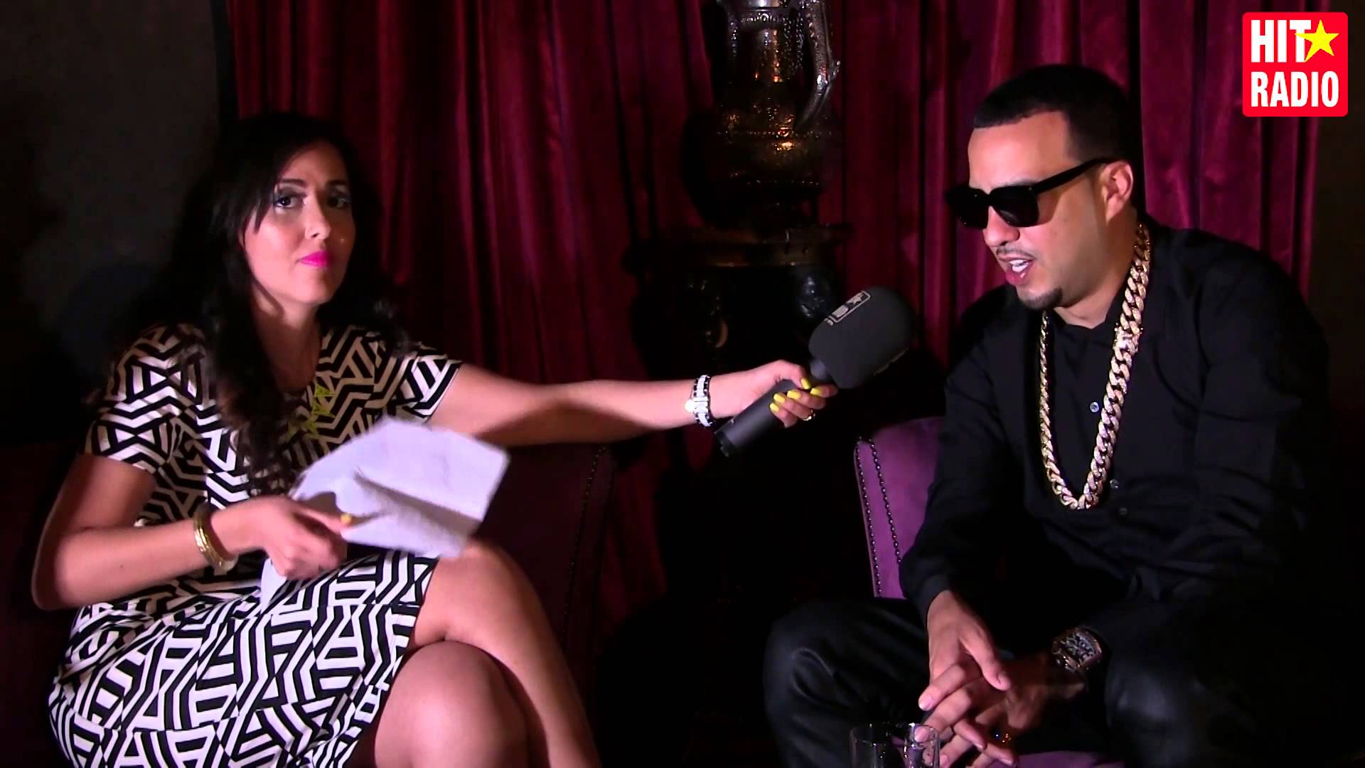 French montana gives a exclusive interview with Moroccan radio channel HitRadio.