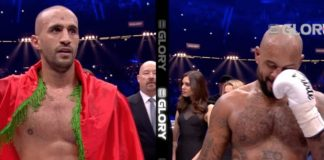 Badr Hari post-fight interview after beating Hesdy Gerges at GLORY 51