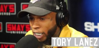Freestyle : Tory Lanez Kills The 5 Fingers of Death On Sway in The Morning
