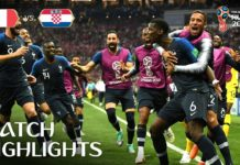 France wins 2nd World Cup title, beats Croatia 4-2