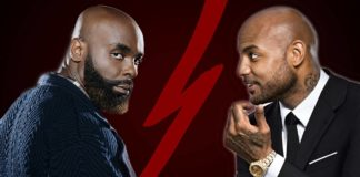 Booba and Kaaris fight