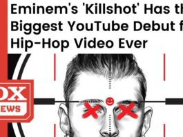 Eminem's Killshot Breaks Record For Biggest YouTube Debut for a Hip Hop Video Ever