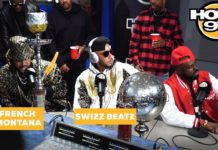 French Montana & Swizz Beatz Freestyle Funk Flex Studio