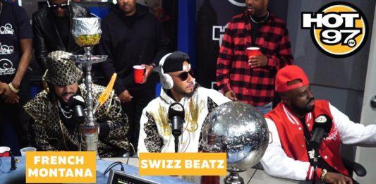 French Montana & Swizz Beatz Freestyle Funk Flex Studio