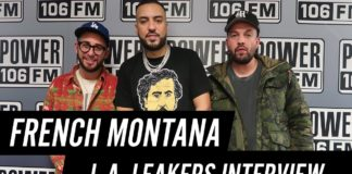French Montana Power 106 Los Angeles Interview