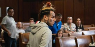 Rapper Tekashi 6ix9ine arrested