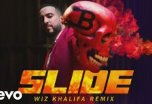 French Montana Slide Remix feat Wiz Khalifa, Blueface, Lil Tjay