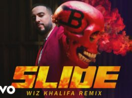 French Montana Slide Remix feat Wiz Khalifa, Blueface, Lil Tjay