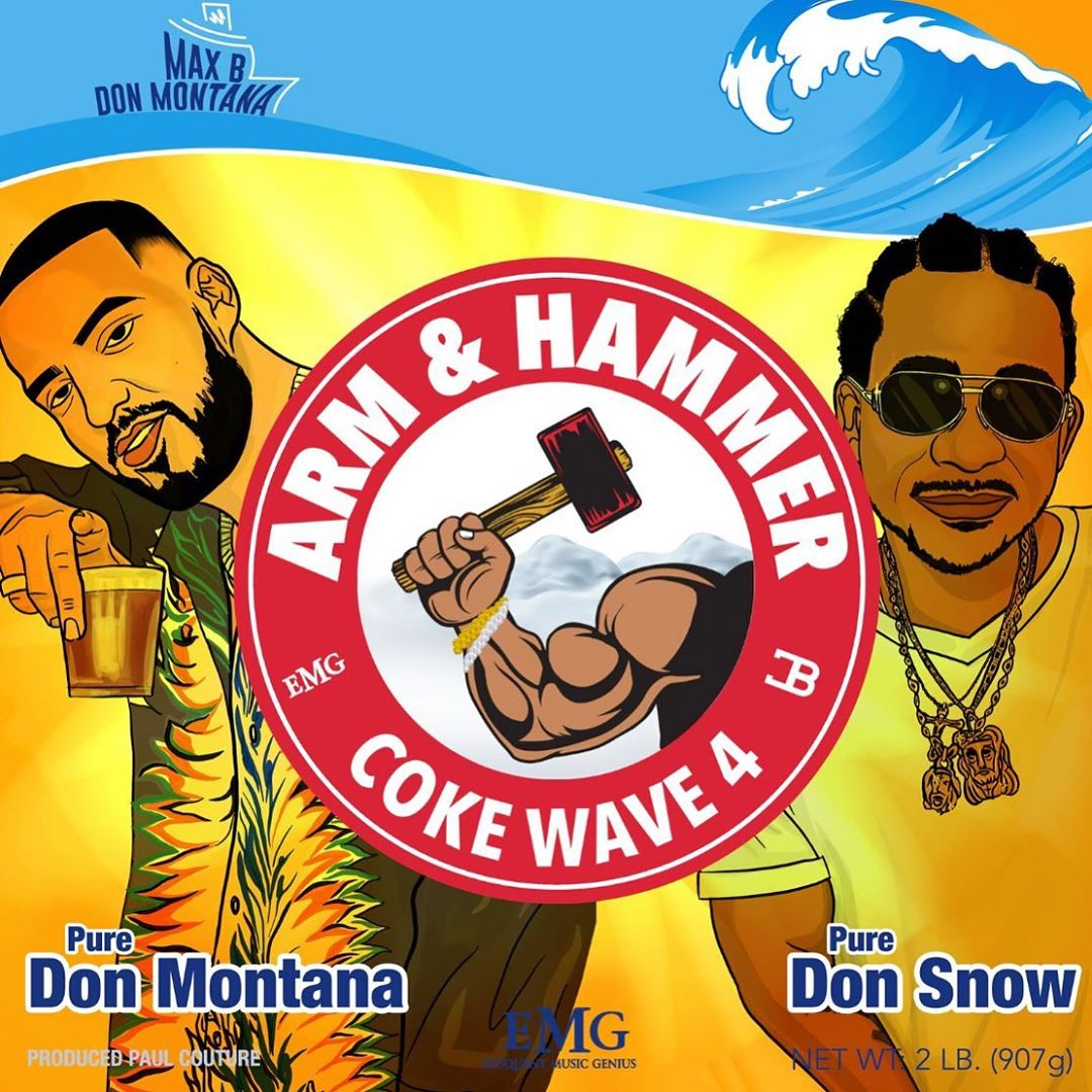 French Montana Max B Coke Wave 4 Mixtape