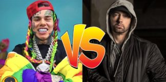 6IX9INE BREAKS YOUTUBE RECORD OF EMINEM
