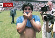 Football Legend Diego Maradona dies aged 60