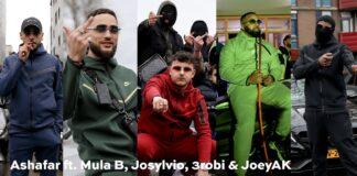 ASHAFAR NIKE TECH feat MULA B, JOSYLVIO, 3ROBI & JOEY AK