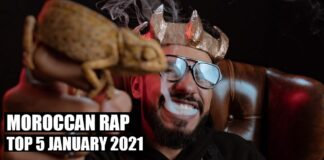 Top 5 Moroccan Rap Music Videos January 2021